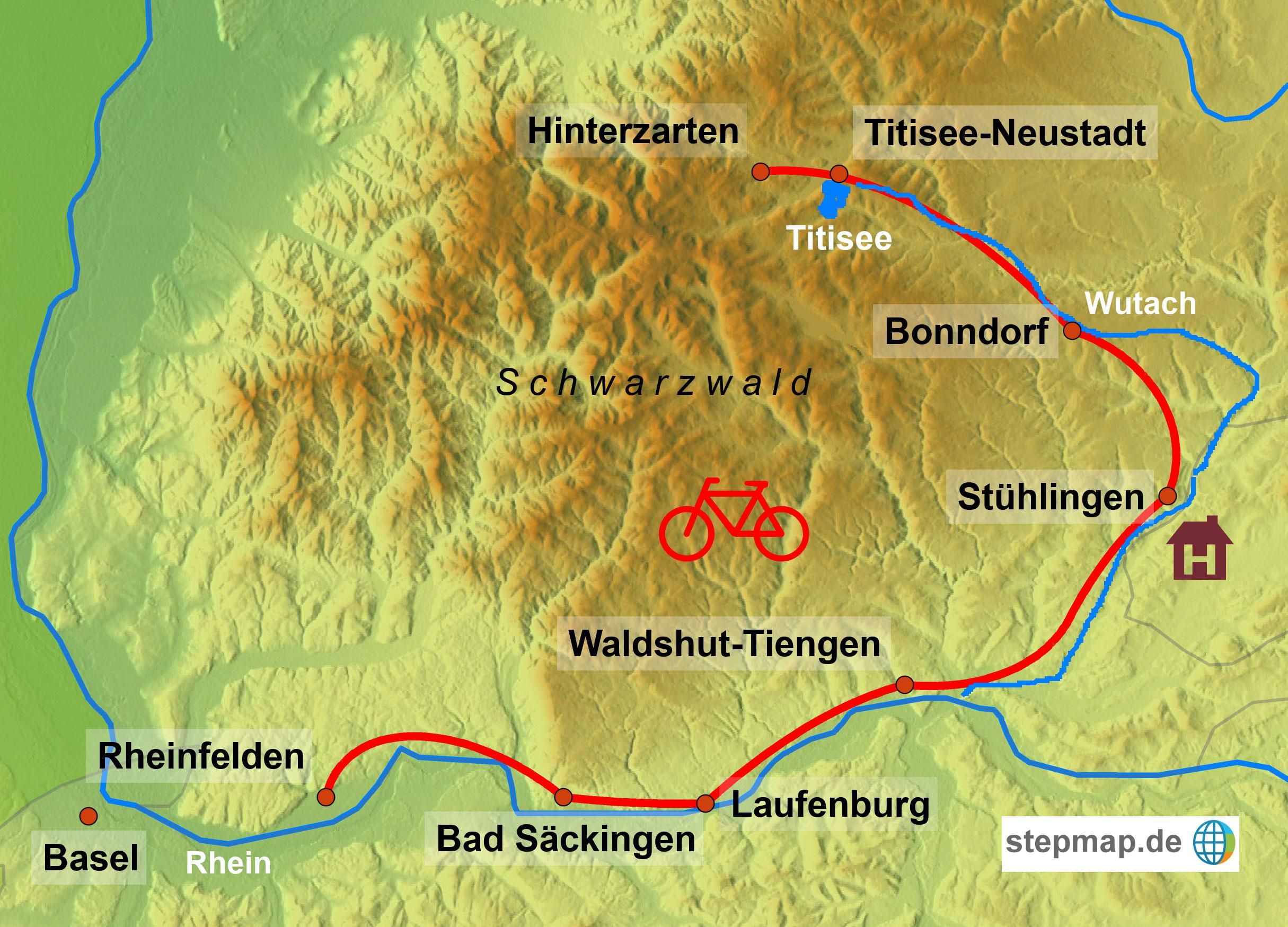 Radreise Suedschwarzwald