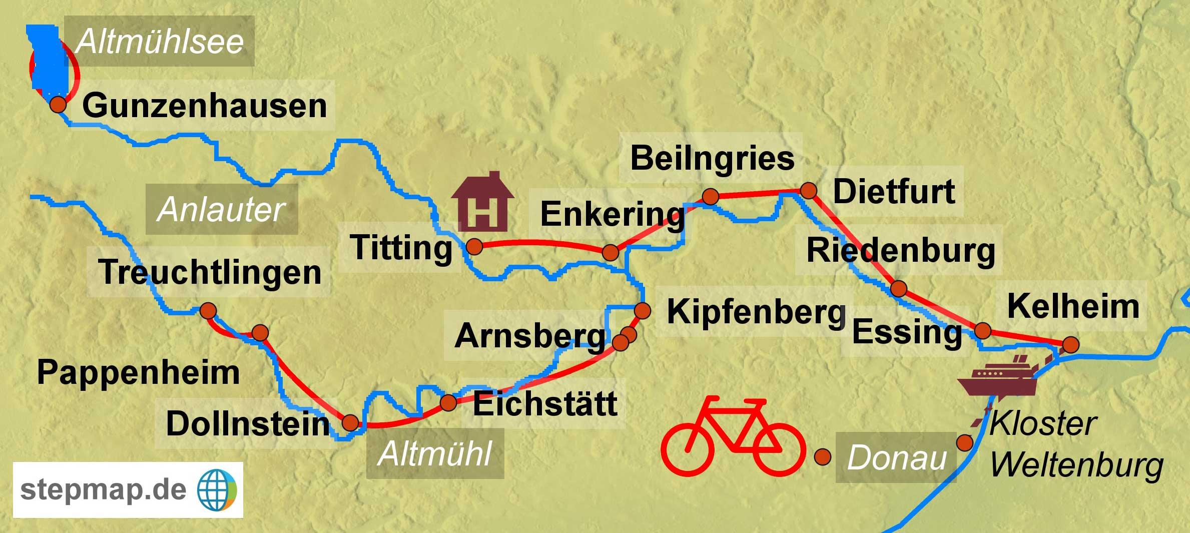 Radreise Muensterland